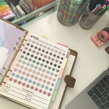 Completed 100 day project tracker