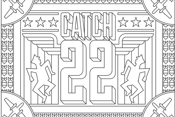 Catch-22 Coloring Page thumbnail