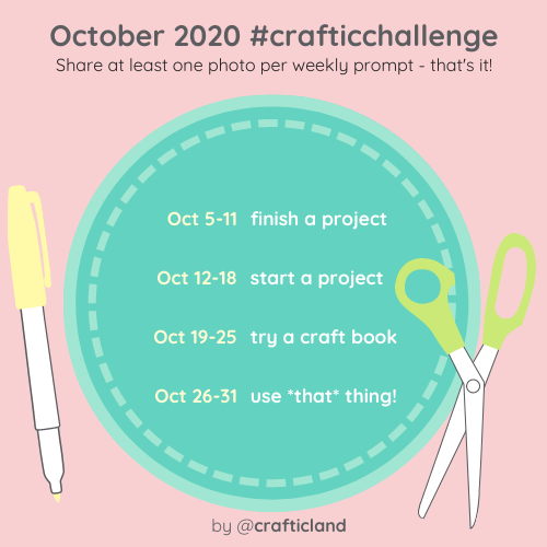 October 2020 Craftic Challenge