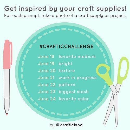 June 2018 Craftic Challenge