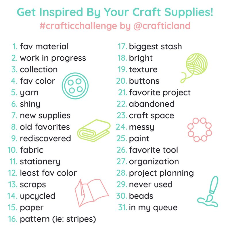 March 2019 Craftic Challenge