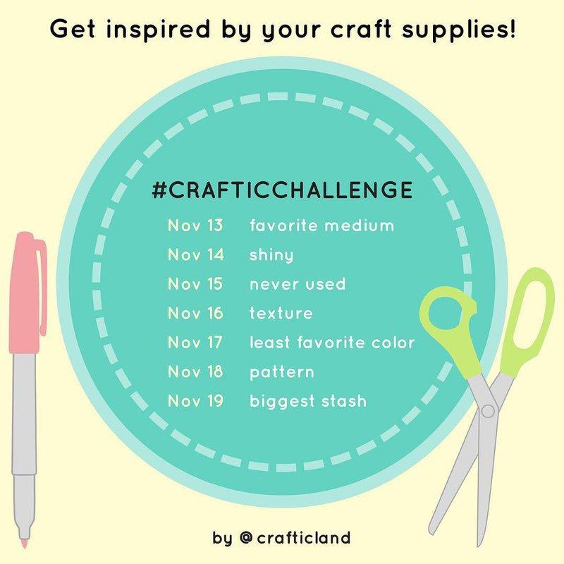 November 2017 Craftic Challenge