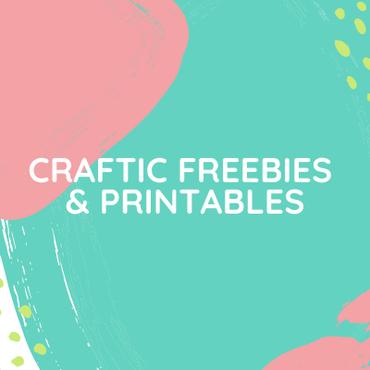 Craftic freebies and printables thumbnail