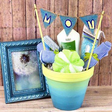 Gift Box Flower Pot